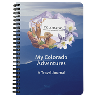 My Colorado Adventures Travel Journal- A 75-page lined travel diary to record your travels and thoughts