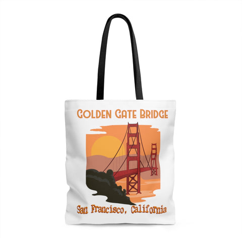 San Francisco California Souvenir Tote Bag