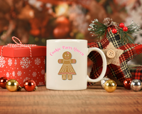 Cookie Party Queen 11 oz. Coffee Mug, Hostess Gift for a Cookie Exchange