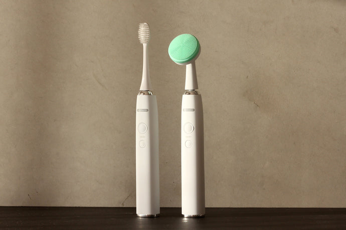 Sonic facial cleaner & tooth brush