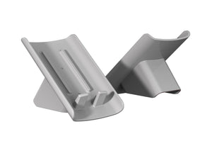 Slanted soap saving dish (2-pack gray)