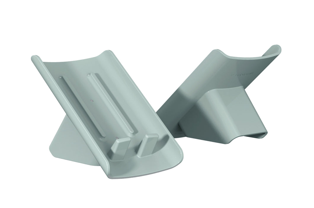 Slanted soap saving dish (2-pack Mint)
