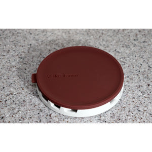 [Mug mate] Multi-purpose silicone lid & coaster (Red)