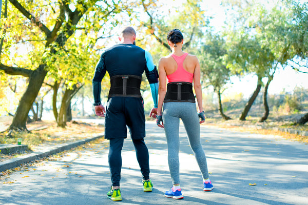 unisex back brace support for men and women