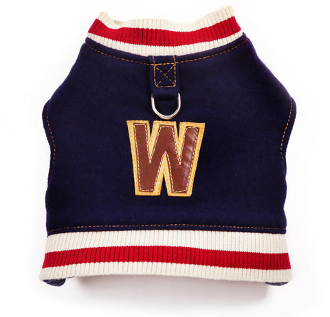 VARSITY JACKET Princeton Pup (with Custom Lettering).  Currently Unavailable