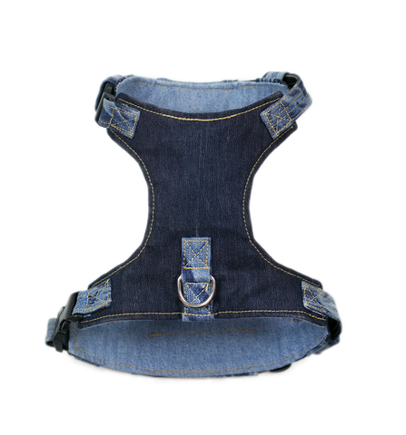 Wilbur Harness Princeton Pup - Tie Dye Denim Harness