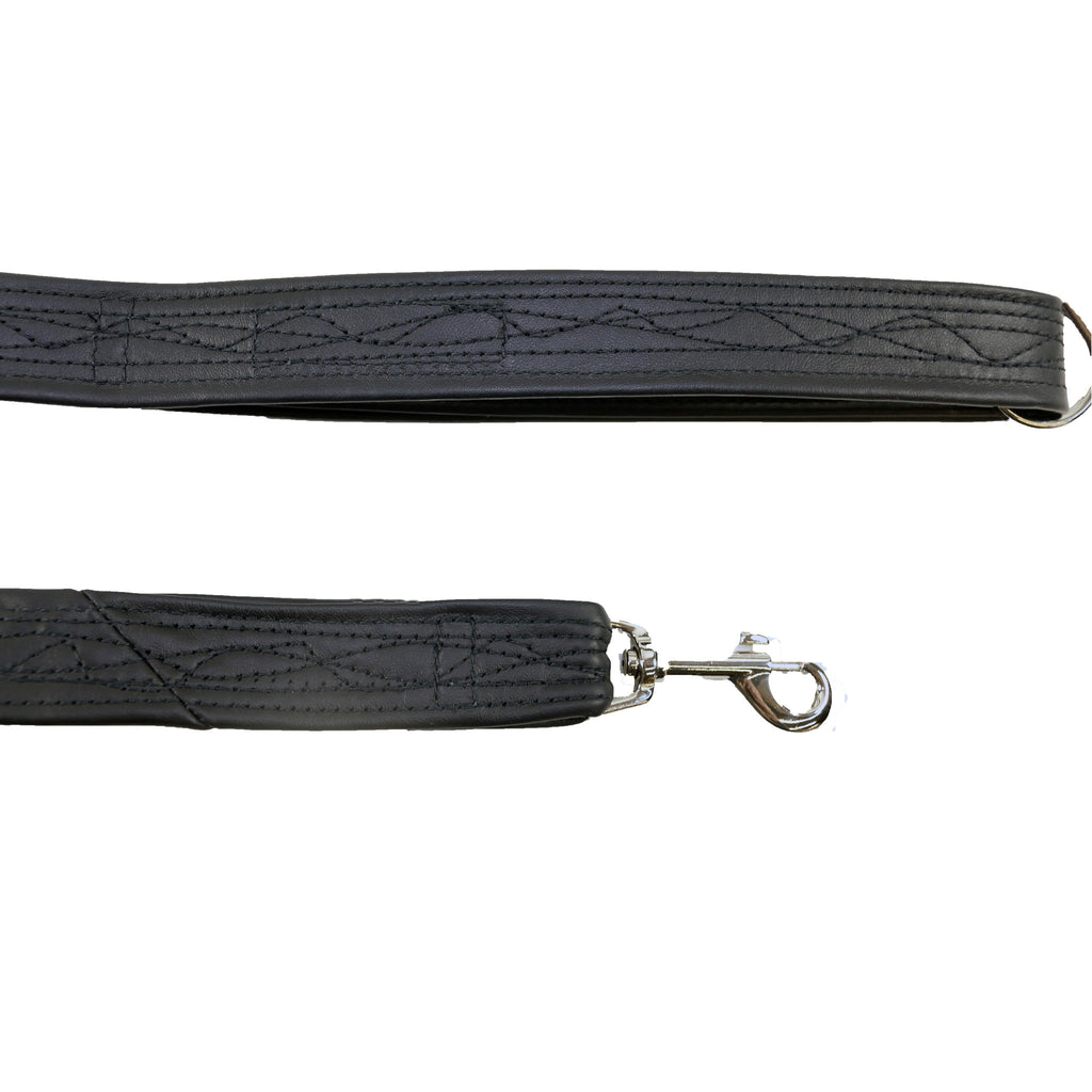 Leash, Black Leather