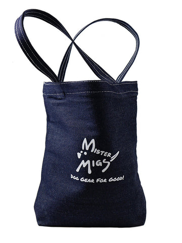 MISTER MIGS Denim Tote 11 x 12.  Currently Unavailable