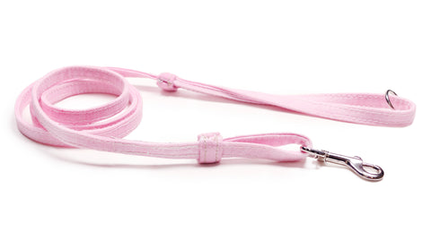 Leash, Pink Denim.  Donate