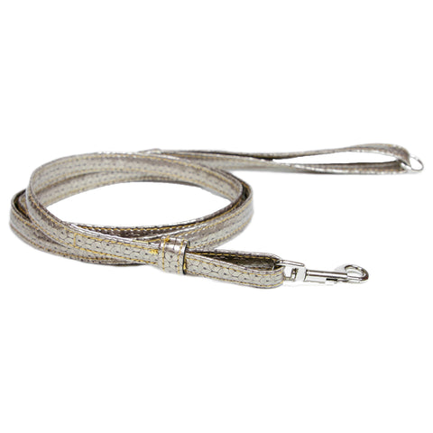 Pop Up Plaid Gold Leash