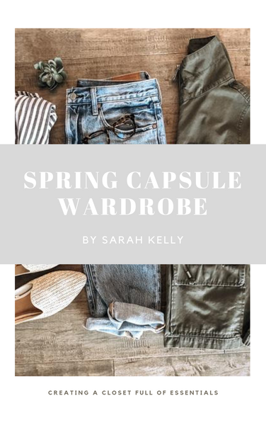 Spring  Capsule Wardrobe eBook