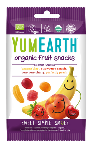 YumEarth Fruit Snacks 50g  *VEGAN* *ORGANIC*