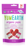 YumEarth Vitamin C Pops (Lollipops) Bag of 14 Lollies