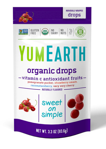 YumEarth Organics Anti OxiFruits Boiled Sweets