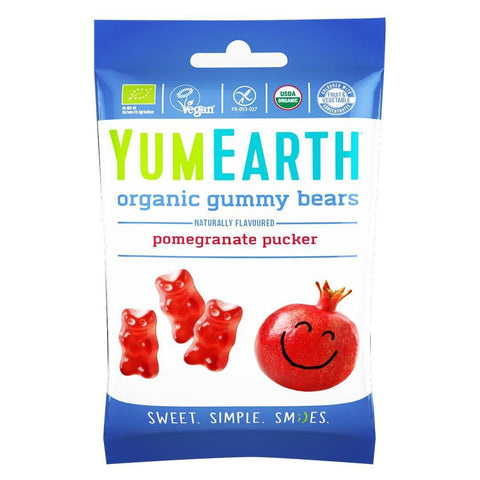 *NEW* YumEarth Organic Gummy Bears 50g  *VEGAN* *ORGANIC*
