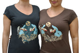 WOMEN'S T-SHIRT SLOTH KONG PROTECTS COCO'S ISLAND
