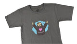 KID'S SLOTH KONG T-SHIRT, BROWN OR GRAY