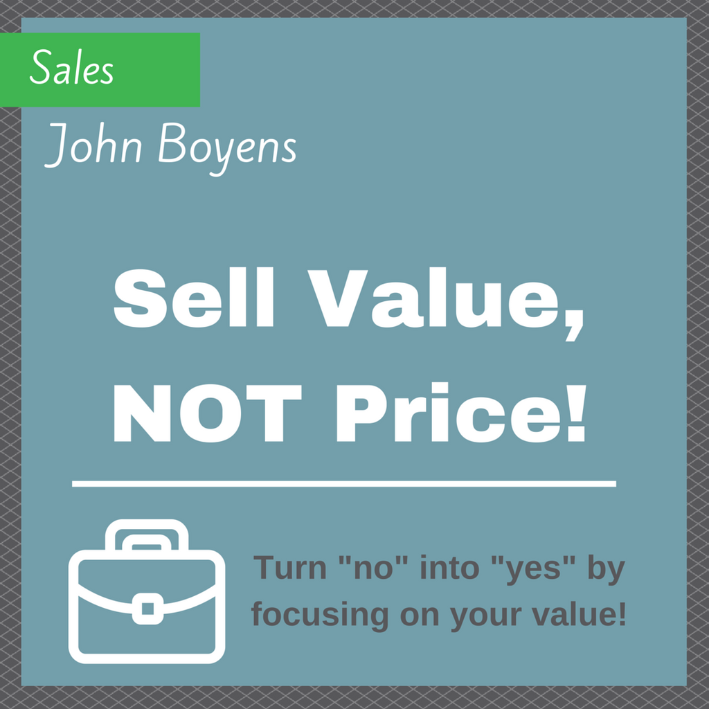 Sell Value, Not Price MP3