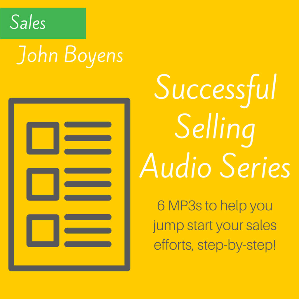 Successful Selling Audio Series