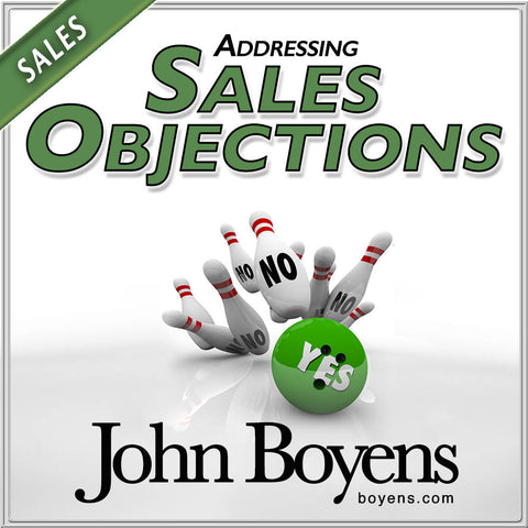 Sales Objections MP3