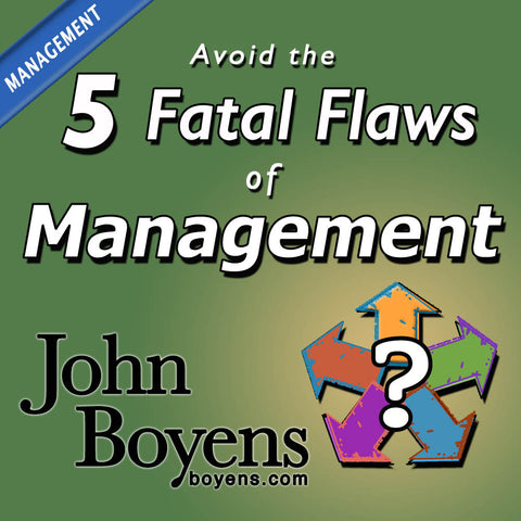 Avoid the 5 Fatal Flaws of Management MP3