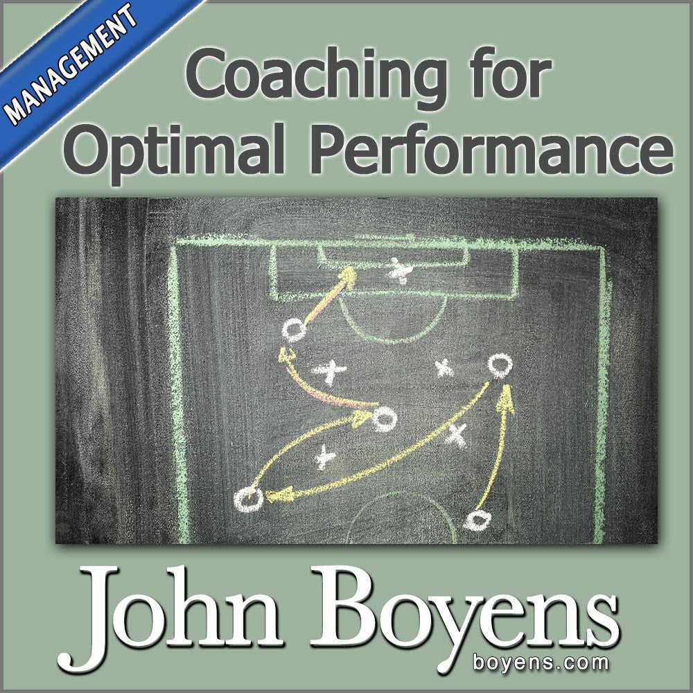 Coaching for Optimal Performance MP3