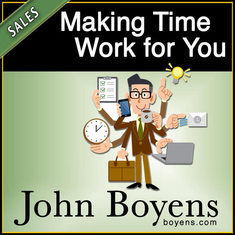 Making Time Work for You MP3