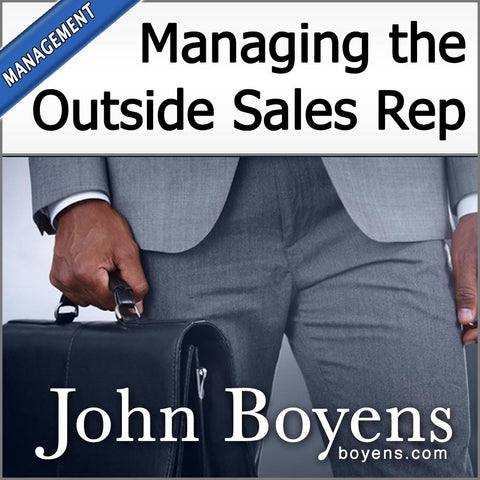 Managing the Outside Sales Rep MP3