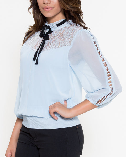Cindy Top- Blue