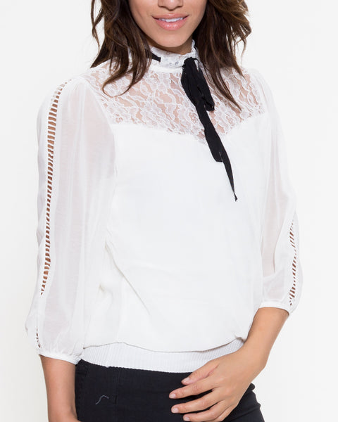 Cindy Top- White