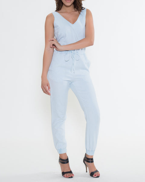 Denver Chambray Overall
