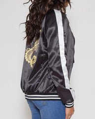WENS Apparel Dragon Souvenir Jacket in Color Black and Gold