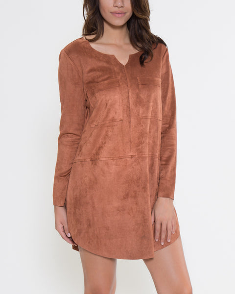 Eileen Dress- Camel