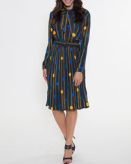 WENS Apparel Florence Dress in color Blue