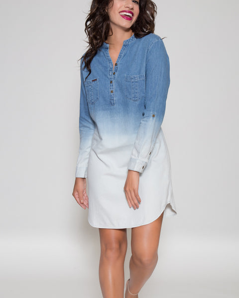 Adriana Indigo Tunic Dress