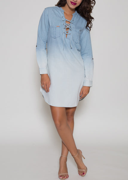 Sydney Indigo Tunic Dress