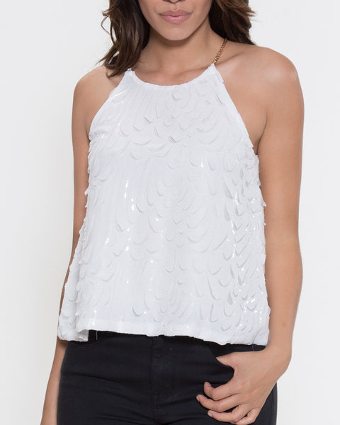 Michelle Top- White