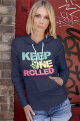 FunkyShirty Keep One Rolled (Women)  Creative Design - FunkyShirty