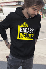 FunkyShirty Badass Welder (Men)  Creative Design - FunkyShirty