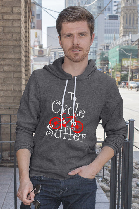 FunkyShirty To Cycle is to Suffer (Men)  Creative Design - FunkyShirty