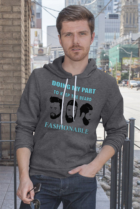 FunkyShirty Beard Fashionable  Creative Design - FunkyShirty