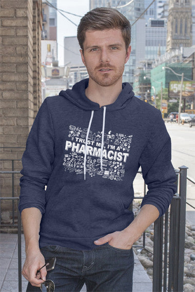 FunkyShirty Trust me Im a Pharmacist (Men)  Creative Design - FunkyShirty