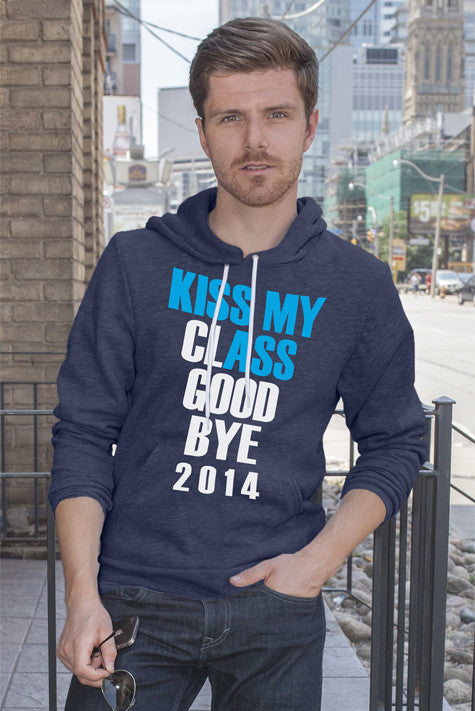 FunkyShirty Kiss my Class Goodbye 2014 (Men)  Creative Design - FunkyShirty