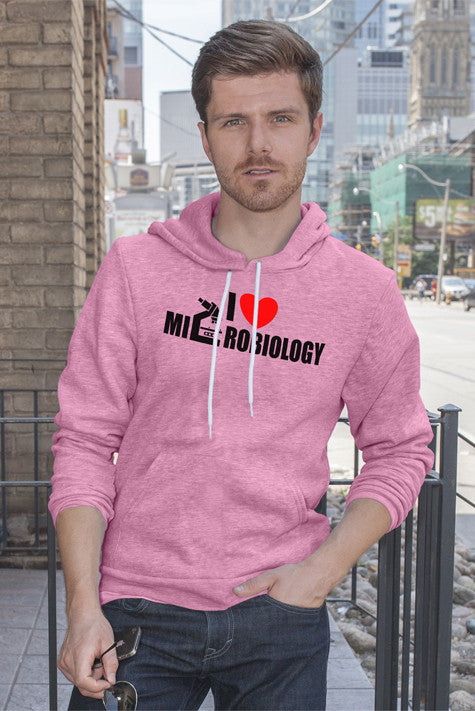 FunkyShirty I Love Microbiology (Men)  Creative Design - FunkyShirty