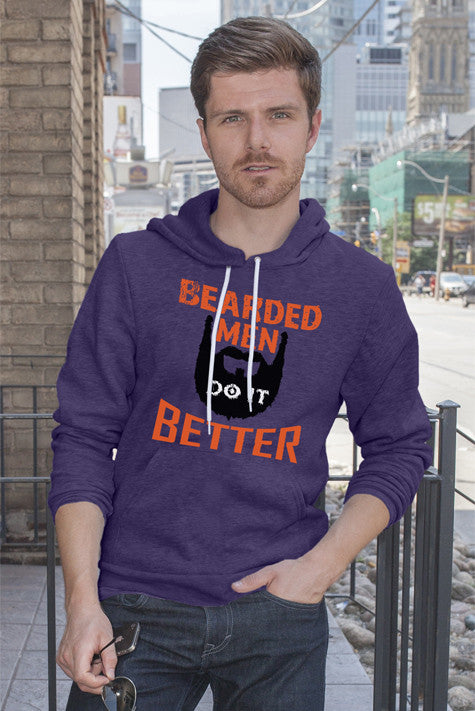 FunkyShirty Bearded Men Do It Better  Creative Design - FunkyShirty
