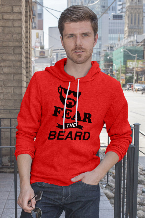 FunkyShirty Fear The Beard 2  Creative Design - FunkyShirty