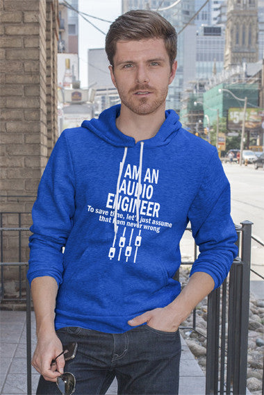 FunkyShirty I am an Audio Englineer (Men)  Creative Design - FunkyShirty