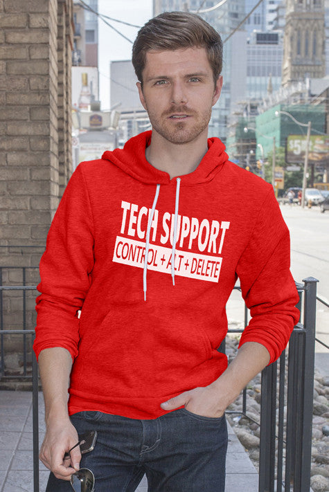 FunkyShirty Tech Support (Men)  Creative Design - FunkyShirty