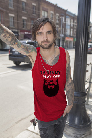FunkyShirty This Is My Play Off Beard  Creative Design - FunkyShirty