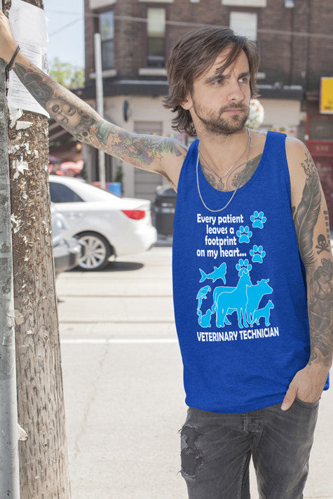 FunkyShirty Veterinay Technician (Men)  Creative Design - FunkyShirty